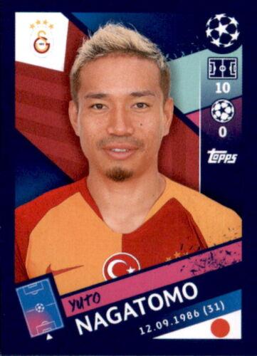 Yuto Nagatomo Sticker 469 Topps Champions League 18//19