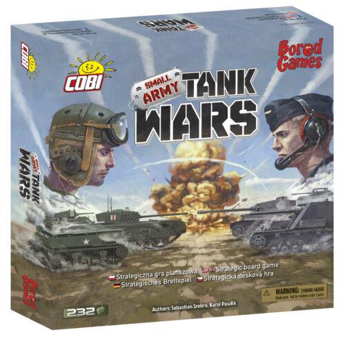 Cobi 22104 Strategisches Brettspiel Tank Wars Panzerkrieg Small Army