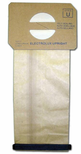 12 Generic Electrolux Upright Style U Allergy Vac bags Epic, Prolux, Discovery,