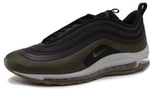 Details about Nike AIR MAX 97 UL'17 HAL AH9945 001 PATCH BLACKMEDIUM OLIVE sz 11.5