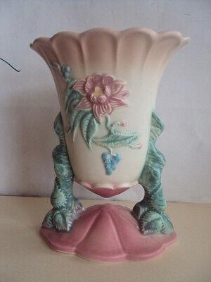 Vintage Original Hull W-17 7 1/2  Woodland Vase. Very Hard 2 Find.  Excellent!