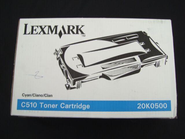 LEXMARK C510 20K0500 CYAN LASER TONER CARTRIDGE