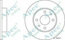 1x OE Quality Replacement Front Axle Apec Vented Brake Disc 4 Stud 282mm Pair
