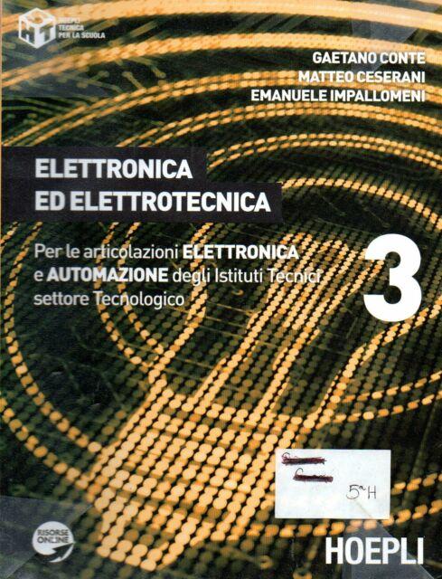 ELETTRONICA ED ELETTROTECNICA 3  - Scuola - Tecnologia - elettrica