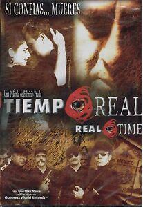 Tiempo-Real-DVD-2004-Brand-New-Espanol-w-Spanish-Subtitles