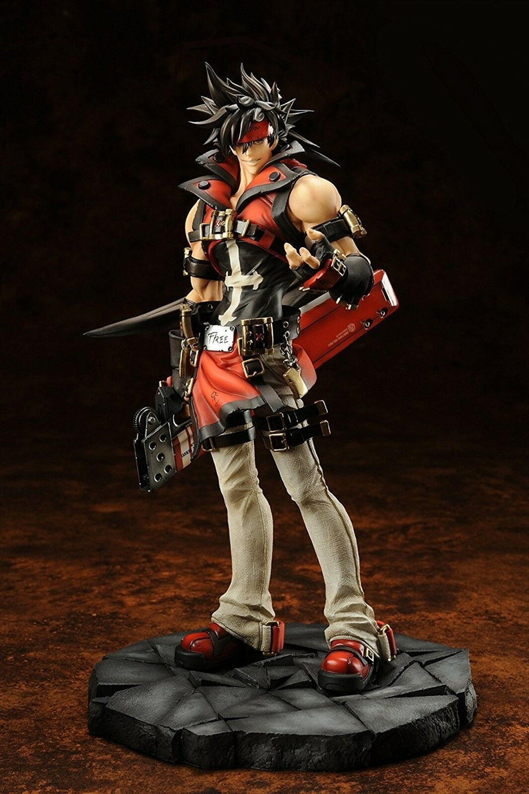 Guilty Gear Xrd Xrd Xrd -Sign- Sol Badguy Normal edizione 1 8 PVC cifra Embrace USED 51f638