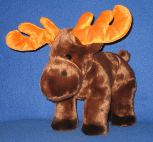 "ESTATES SALE TY AUTHENTIC BEANIE BUDDY "" CHOCOLATE ""the Moose"