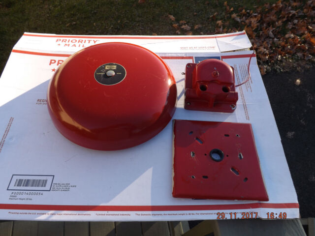 Simplex-Gardner-Audible-Signaling-Appliance-Fire-Alarm-School-Bell-System