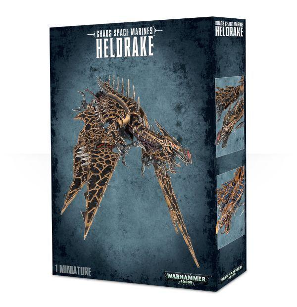 Chaos spazio Marines Heldrake Warhammer  40k nuovo  spedizione gratuita
