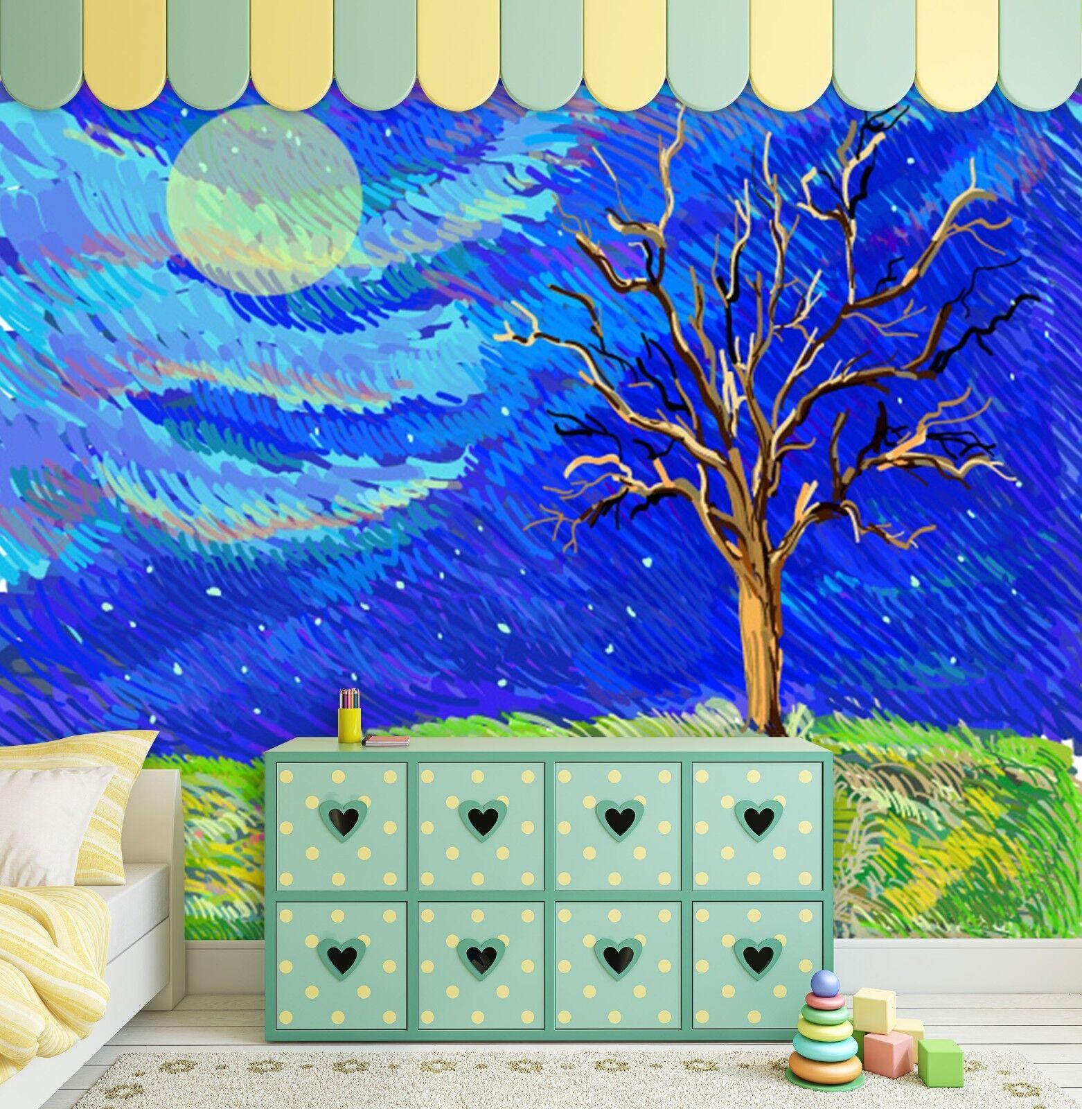 3D Mond Himmel Wiese 898 Tapete Wandgemälde Tapeten Bild Familie DE Lemon  | Fairer Preis  | Zuverlässige Leistung  | Primäre Qualität