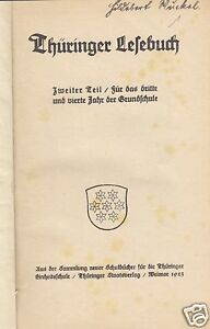 Thueringer-Lesebuch-Zweiter-Teil-Fuer-das-3-und-4-Jahr-der-Grundschule-1923