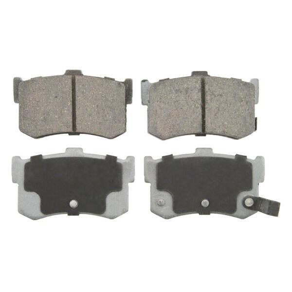 Disc Brake Pad Set-4 Door Rear Advance PD342 Fits 86-87