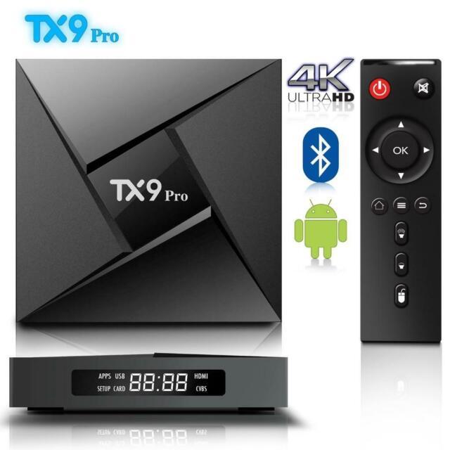 TX9 PRO 3GB 32GB Smart Android 7 1 TV Box Amlogic S912 Octa Core 64Bit Dual  WIFI