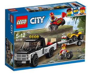 LEGO-City-60148-Quad-Rennteam-NEU-OVP