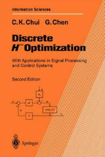 Discrete H∞ Optimization: With Applications In Signal Processing And ...
