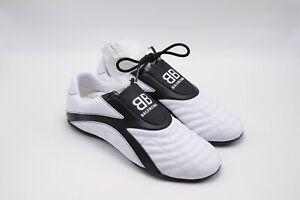 Balenciaga-White-Leather-Women-039-s-Sport-039-s-Zen-Sneaker-sz-8-US-38-EUR-NWOB