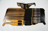 Solar Eclipse Glasses - American Totally 50 Flat - Iso Certified Ce Approved