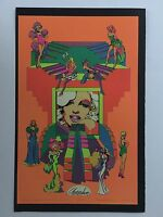 Blacklight Poster Pin-up Print Screen Queens Monroe & In My Room Double Sided