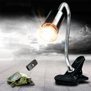 Image Is Loading 150W Flexible Reptile Lizard Turtle Basking Heat Light