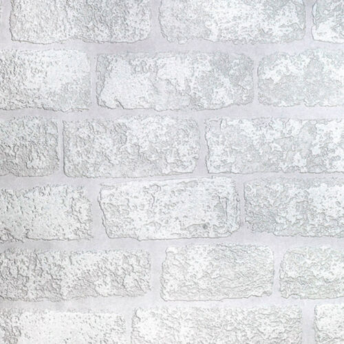 Paintable Wallpaper 3D Brick Effect Luxury Textured Vinyl Lincolnshire Anaglypta