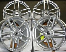 "18"" S DRS ALLOY WHEELS FITS 5X100 AUDI VW CRYSLER SEAT SKODA TOYOTA VOLKSWAGEN"
