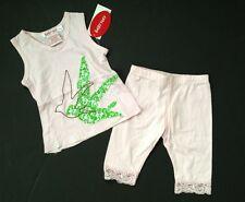 NWT Baby Nay Boutique Girl Pink  Shirt Tank Top Floral Legging Pant 12 Mo