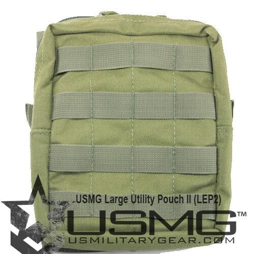 Us military gear-haute large qualité large gear-haute olive zippées molle utilitaire poche ii [AW3] 4f4a58