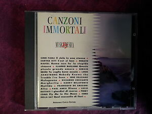 COMPILATION-CANZONI-IMMORTALI-ARMANDO-CURCIO-EDITORE-14-TRACKS-CD