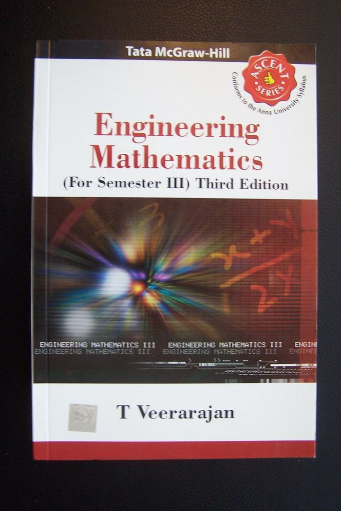 Engineering Mathematics (For Third Year) by T Veeraraja