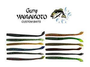 """5/"""" Senko Bass Fishing Lure Soft Plastic Bass Lure Gary Yamamoto Custom Baits"""