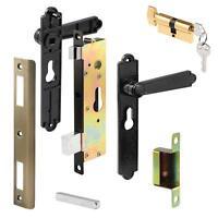 Heavy Duty Security Storm Door Screen Mortise Latch Lever Lock Handle Hardware