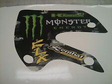 Monster energy decal kit graphics   Kawasaki KX65 & 02-09  KLX110 klx 110