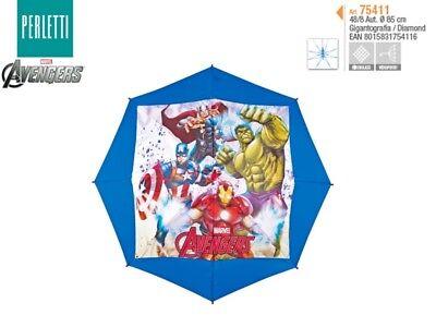 Ombrello Pioggia Automatico Bambino Avengers Thor Hulk Ironman Capitan America Sconto Del 50