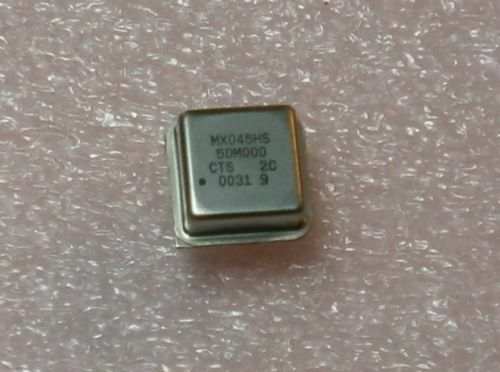 5 CTS MX045HS MXO45HS 50.000MHz 50MHz 5V HCMOS//TTL Oscillator Half Size DIP8