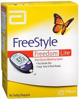 Freestyle Freedom Lite Blood Glucose Monitoring System (3 Pack)