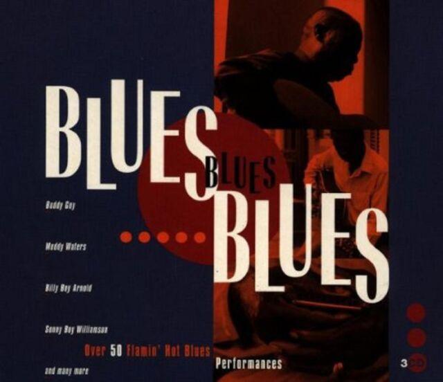 Various Artists-Blues Blues Blues 3 CD SET