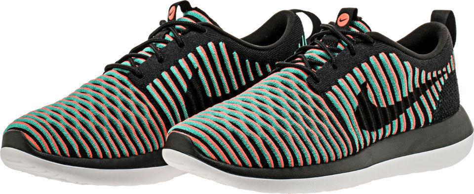 958243e03e78 Mens Nike Nike Nike Roshe Two Flyknit 844833-003 Black Crimson Brand New  Size 10 ff8b1c