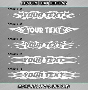 Fits DODGE RAMCHARGER Custom Windshield Tribal Flame Vinyl Decal Sticker Graphic