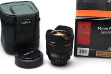 Sigma EX HSM 14mm F/2.8 D f. Nikon
