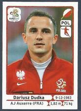 PANINI EURO 2012- #064-POLSKA-POLAND-AJ AUXERRE-DARIUSZ DUDKA