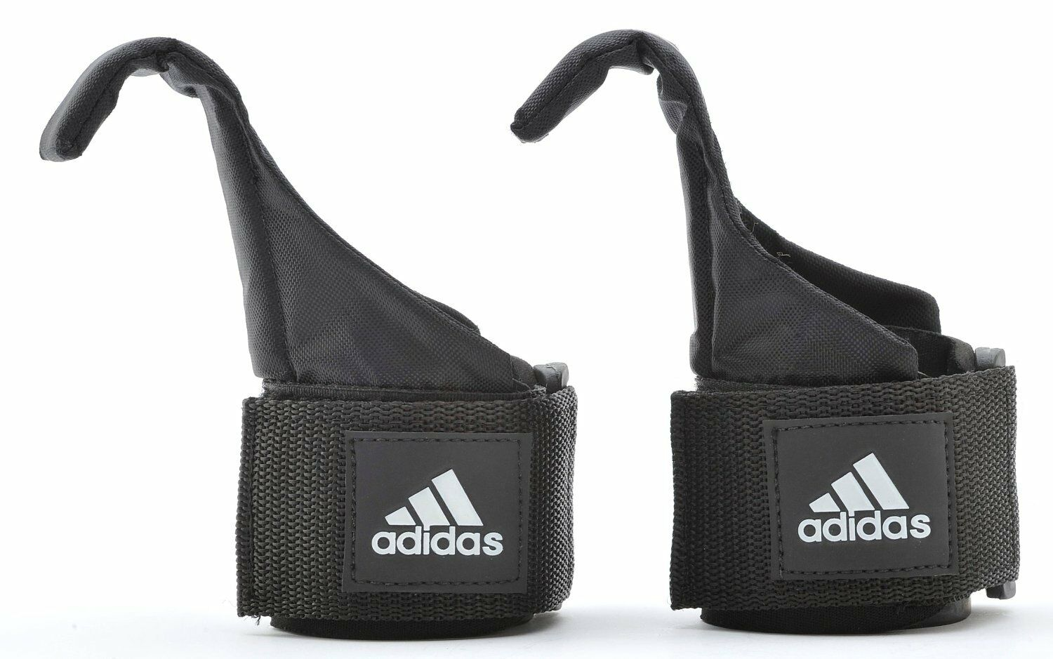 Adidas  Gym Weight Lifting Hook Straps Hand Bar Wrist Brace Support Grip One Size  store online