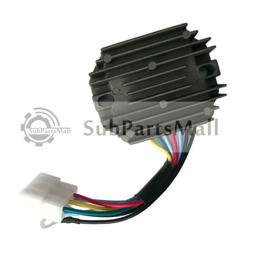 Rectifier Regulator 6 Wire Plug Fits Kubota Grasshopper 15351-64601 15351-64600