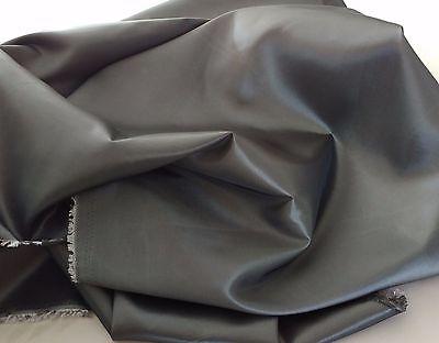 "Dark Silver Gunmetal Taffeta 100% Polyester 59/60"" wide by the yard.Free swatch."