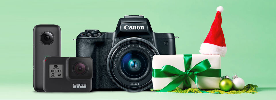 Shop Now - Capture Your Memories this Holiday Season.