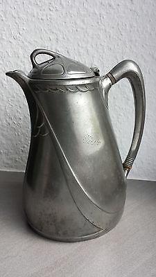 Albin Müller Kaffeekanne Jugendstil  Gerhardi & Cie. Modell 1816