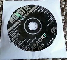 MALE R&B HITS CD+G MONSTER HITS KARAOKE CDG USHER,MARVIN GAYE,R KELLY MH1120