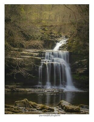 David Guyett Photography Great waterfalls of England #1 17x22