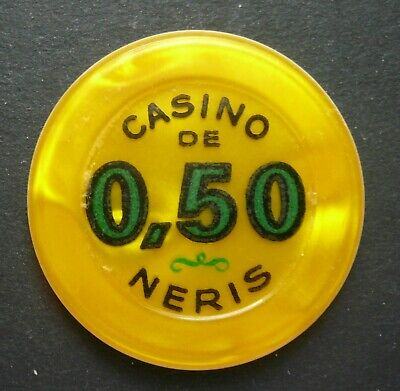 Casino De Neris 0,50 Franc Jeton Néris Les Bains,auvergne/france Nachfrage üBer Dem Angebot