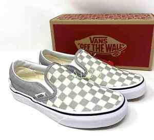 Checkerboard Silver Grey VN0A4U38WS3