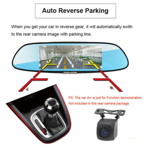 HD Night Vision rear camera 5.7 meters cable Waterproof back cam for car dvr